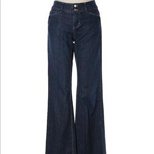 White House Black Market Flared Jeans Size 0